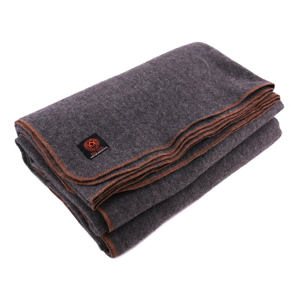Arcturus™ 80% Heavy Military Wool Blanket