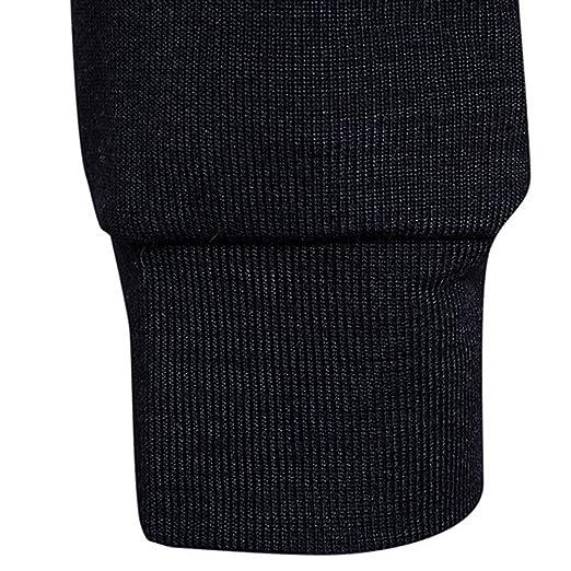 Suéter de Invierno de otoño para Hombre Jersey Suelta Jersey de Punto Outwear Blusa por Internet.: Amazon.es: Ropa y accesorios