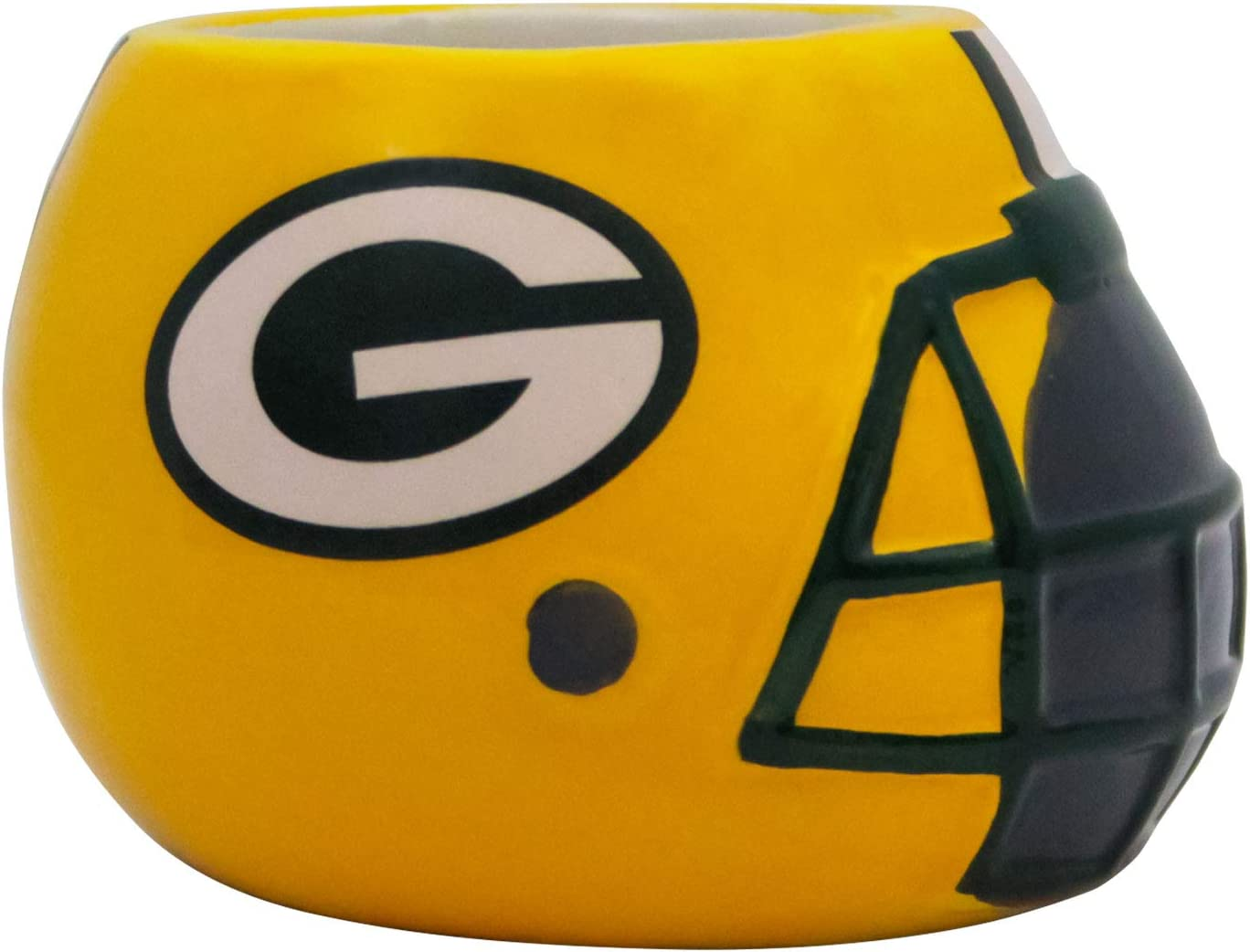 Green Bay Packers - Ceramic Helmet Planter - Empty