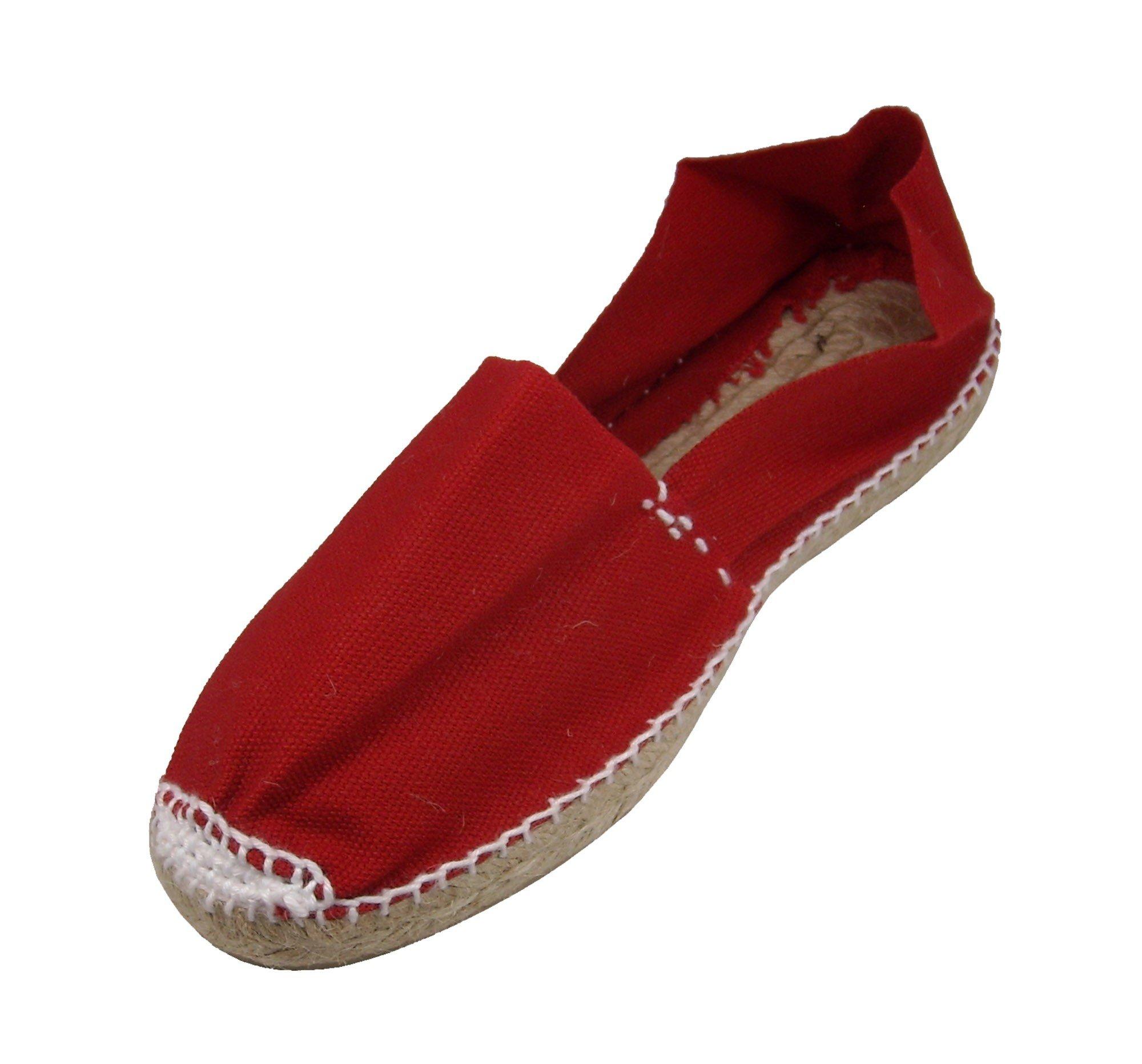 Alpargatus - Espadrille Red 32 EU / 1 - 1.5 US Unisex Child Red