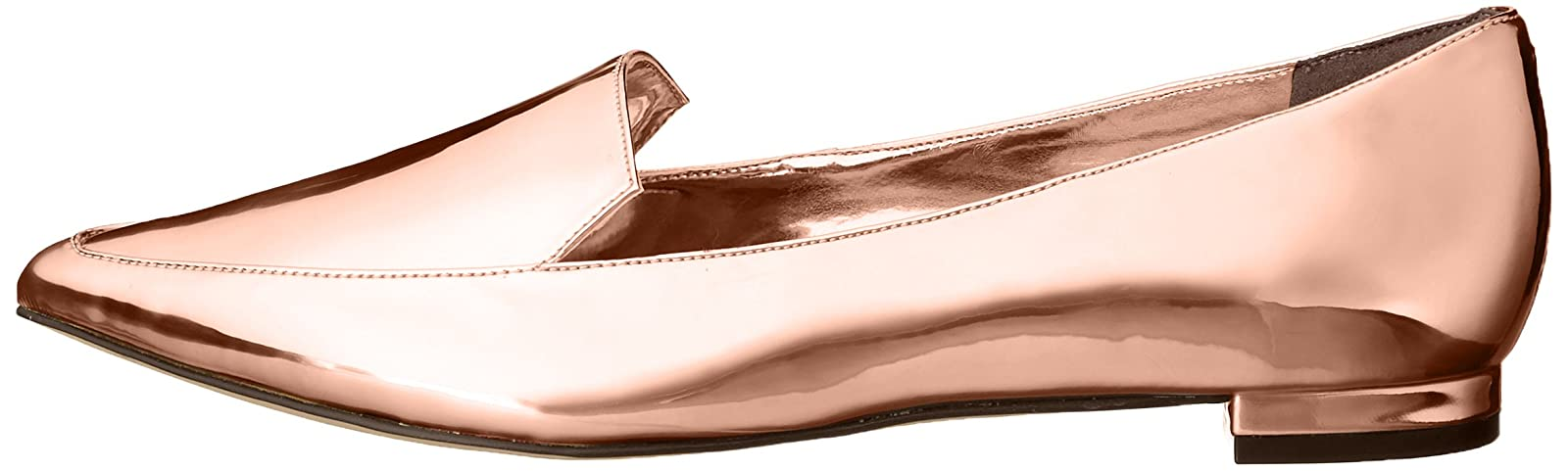 Nine West Women's Abay Patent Pointed Toe Flat US - 5
