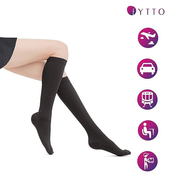 2406d2474dd Amazon.com  Fytto 1020 Women s Compression Socks