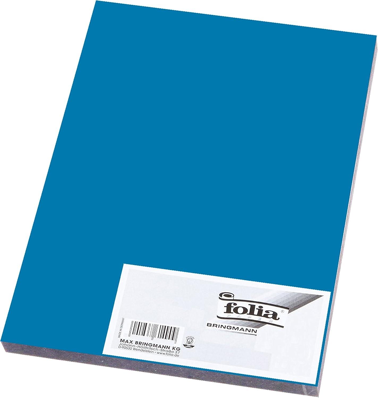 10 Blatt, 00 Wei/ß 130g//m/² Folia Tonpapier Din A3