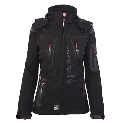 GEOGRAPHICAL NORWAY femmes Softshell fonctions plein pluie veste sport