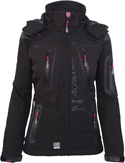 TALLA M. Geographical Norway - Chaqueta multifunción softshell impermeable para mujer