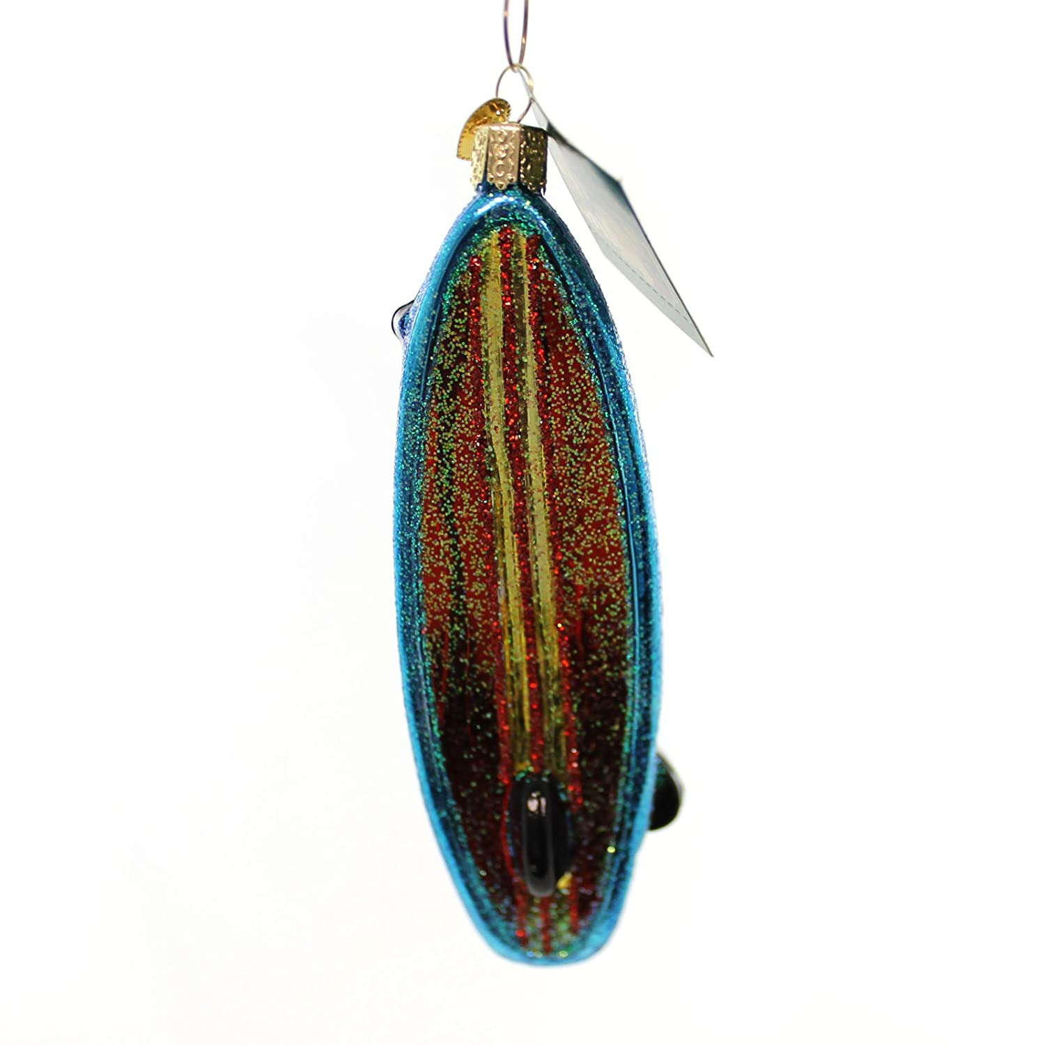 Stand up paddle board ornament - Amazon Com Old World Christmas Stand Up Paddle Board Glass Blown Ornament Home Kitchen