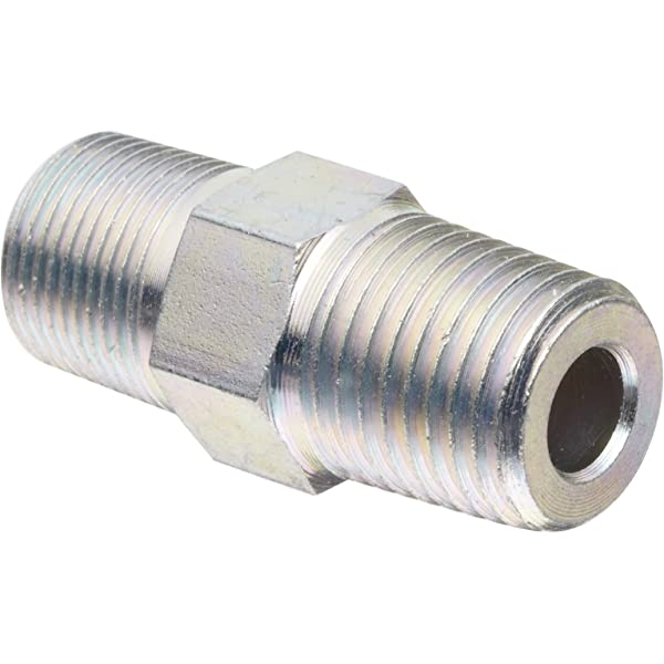 Alemite 51942 Adapter 1//4-28 SAE-LT Taper Thread m x 1//8 Female NPTF
