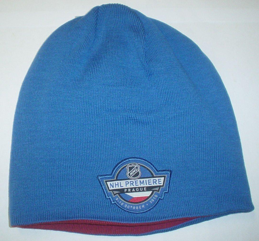 56ec87ddb754b2 Amazon.com : Phoenix Coyotes NHL Premiere Prague Reversible Reebok Knit Hat  : Sports Fan Apparel : Sports & Outdoors