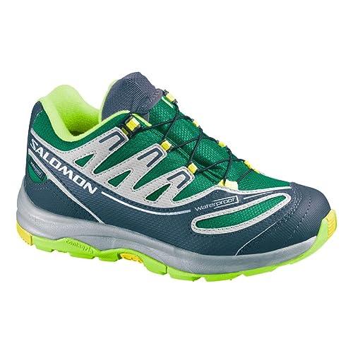sehr günstig süß neue angebote SALOMON Kids Shoes Kids XA Pro 2WP -K Black Asphalt Aluminum ...