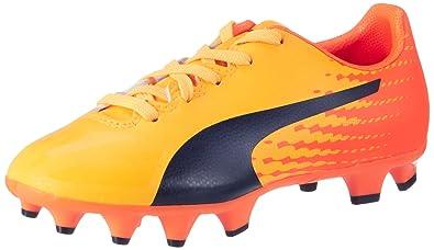 1e20eb62b32c Puma Unisex Kids' Evospeed 17.4 FG Jr Football Boots, (Ultra Yellow-Peacoat