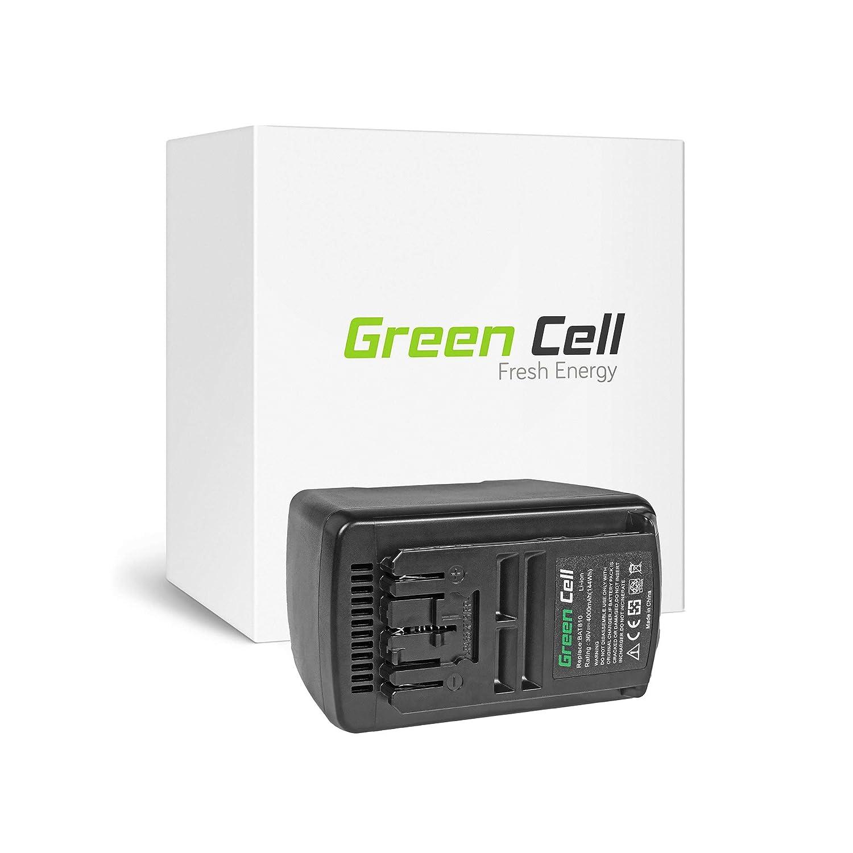 verde Cell® 2607336107 Utensili Elettrici Batteria per Bosch (Li-Ion celle 4Ah 36V)
