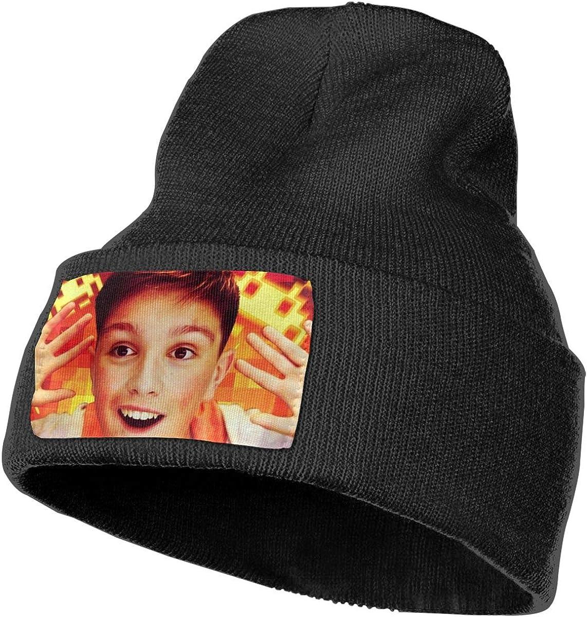 Morgz Challenge Classic Winter Warm Knit Hat Beanie Cap for Men Women