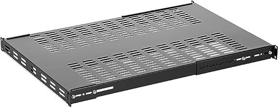 44lbs Capacity RKPW161915 16in Deep Bundle with 1x 1U Rackmount PDU Power Strip with 16 Outlets StarTech.com 1x 1U Vented Server Rack Shelf CABSHELF116V