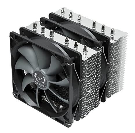 Scythe 56500 disipador para CPU, negro