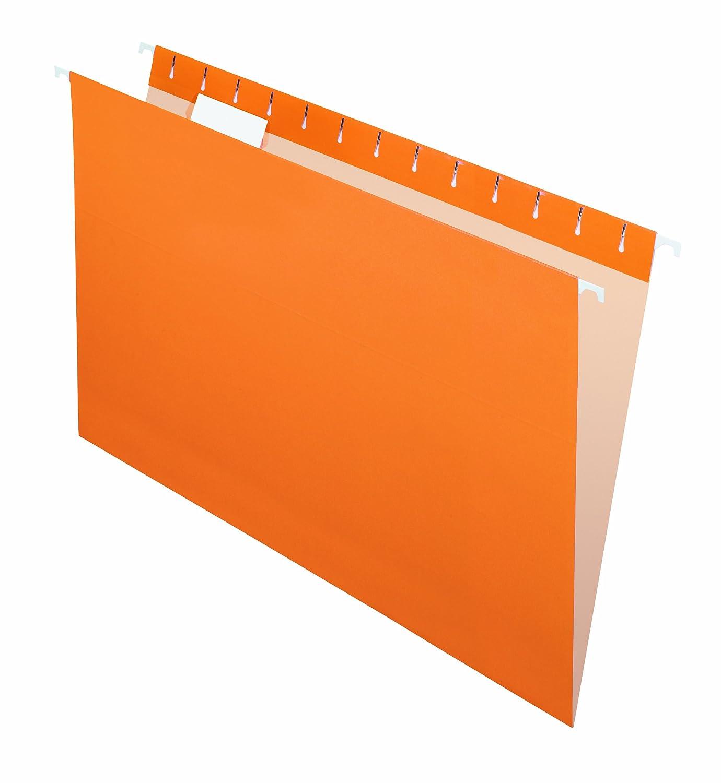 Pendaflex Essentials Hanging Folders, Legal, Orange, 25/Box 91838