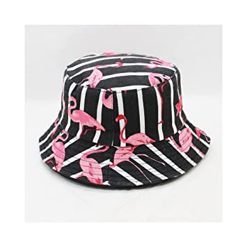00f2a5c10c33e JUNHONGZHANG Flamingo Animal Print Bucket Hat Fisherman Hat Outdoor Travel Hat  Sun Cap Hats For Men