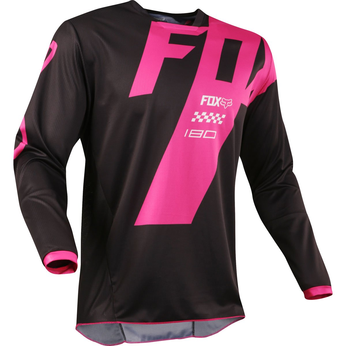 Fox Racing 2018 180 Mastar Jersey-Black-L
