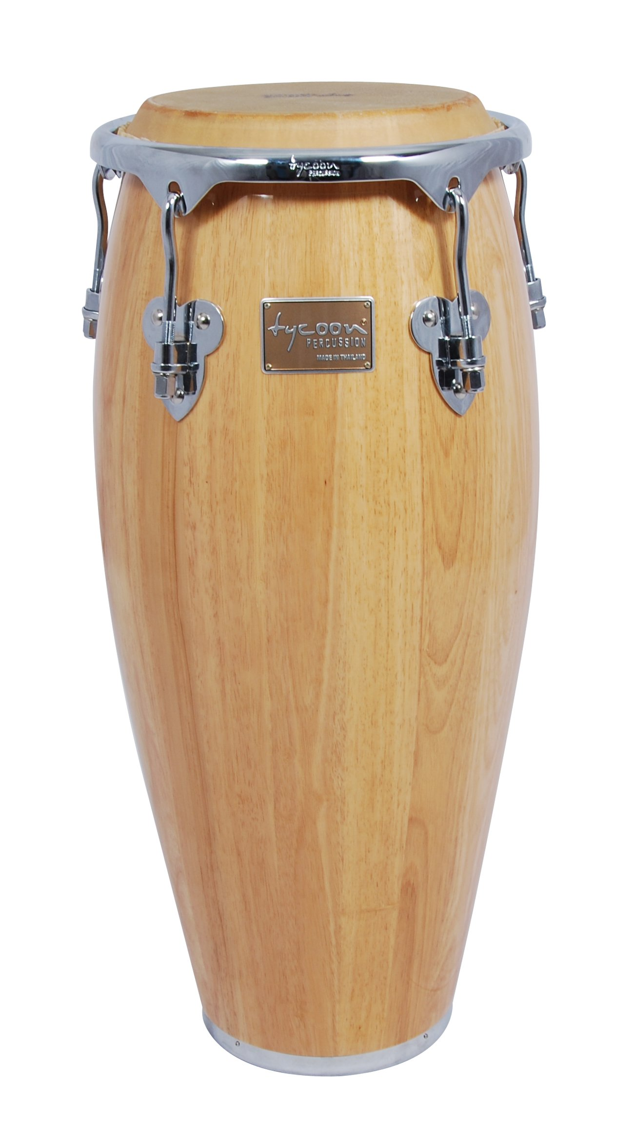 Tycoon Percussion 12 1/2 Inch Master Classic Series Natural Tumba With Single Stand