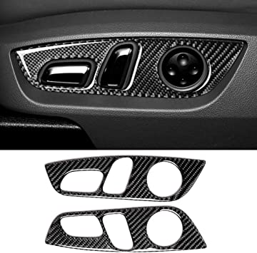 GZXinWei Car Interior Carbon Fiber Headlight Switch Button Frame Cover Trim Sticker Decals Car Styling