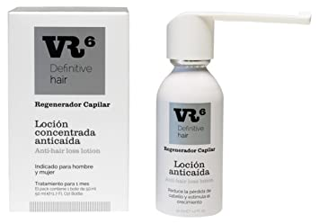 VR6 Definitive Hair Loción Concentrada Anticaída - 50 ml: Amazon.es: Belleza