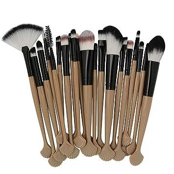 7f3cce2ec70f 20Pcs 15 Colors Cosmetic Makeup Brushes Sets Ber ... - Amazon.com
