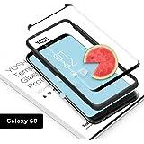 YOSH Pellicola Vetro Temperato per Samsung Galaxy S8, [copertura completa] Protettiva Dello Schermo S8 [Compatibile con la Custodia, Resistente ai graffi, Trasparenza ad alta definizione] 1 Pezzo