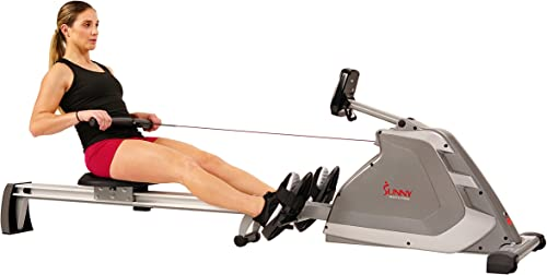 Sunny Health Fitness Magnetic Rowing Machine
