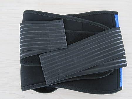 FitMad ajustable de la® de neopreno con asa de doble tracción de soporte de correa de Lumbar de la parte inferior diseño de flor de/calentadores de brazos ...