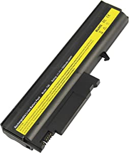 AC Doctor INC Laptop Battery for Lenovo IBM Thinkpad R50 R50p R50e R51 R51e R52 T40 T40p T41 T41p T42p T43 T43p, 5200mAh/10.8V/6 Cell