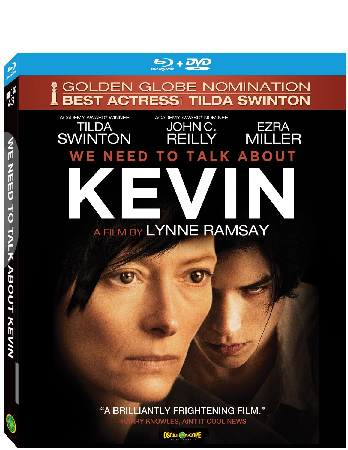 Blu-ray : We Need To Talk About Kevin (Bonus CD, With DVD, Digital Theater System)