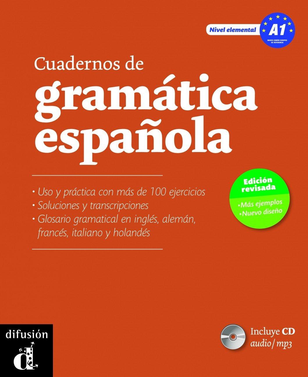 Cuadernos de gramatica espanola A1 + CD (Spanish Edition ...