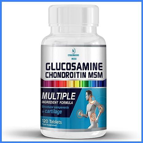 glucosamina condroitina y msm mercadería secundarios