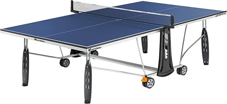 Cornilleau Sport 250 Mesa de Ping Pong, Unisex Adulto, Azul, Talla ...