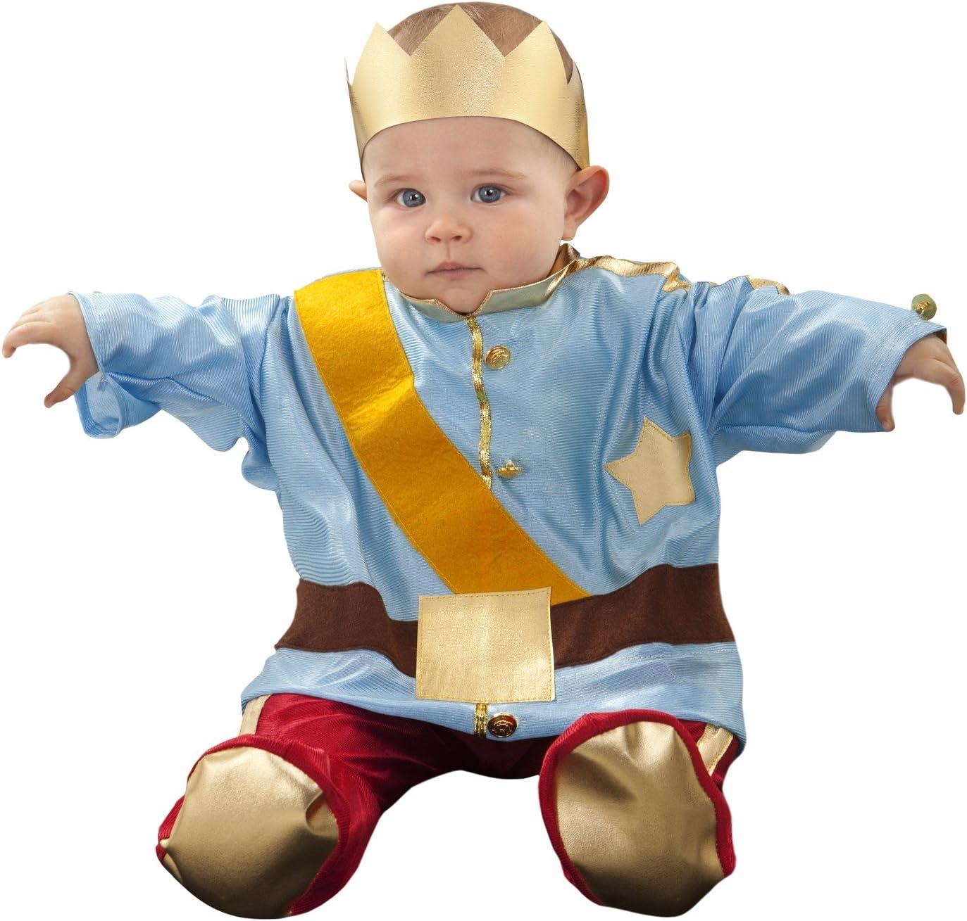 Boys Toys - Disfraz principito bebé. talla 6-12 meses: Amazon.es ...