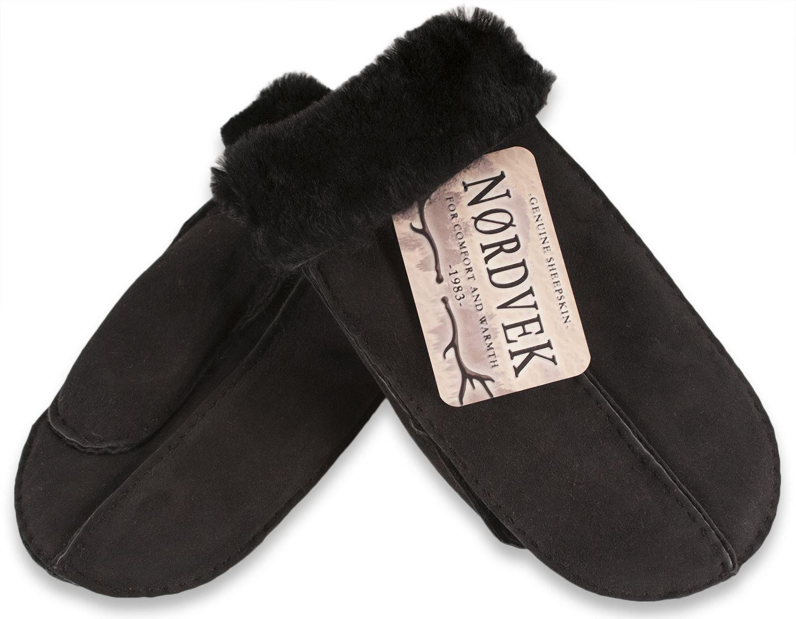 Nordvek Women's Sheepskin Mittens # 315-100