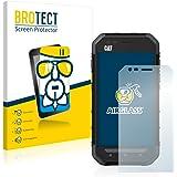 BROTECT AirGlass Protection Verre Flexible pour Caterpillar Cat S30 Film Vitre Protection Écran - Dureté 9H