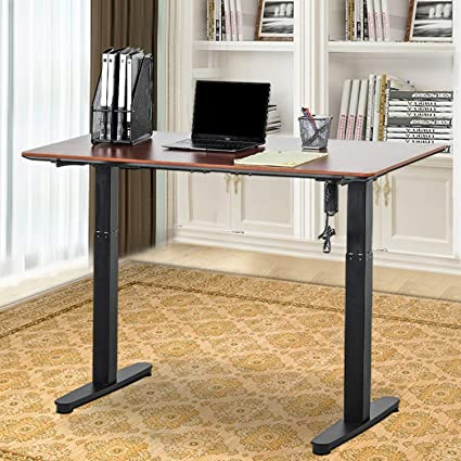 Magnificent Incbruce Classic Stand Electric Height Adjustable Computer Desk Home Office Workstation Study Sit Standing Desk W Independent Assortment Of Table Download Free Architecture Designs Scobabritishbridgeorg
