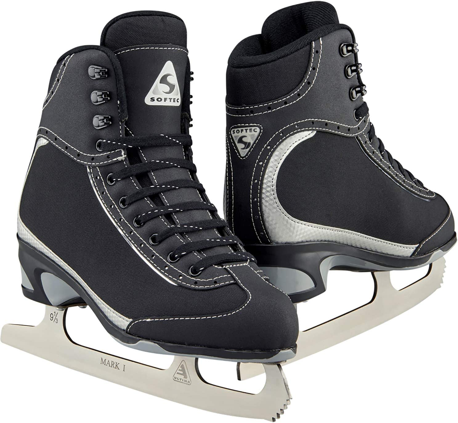 Jackson Ultima Softec Vista ST3200 Figure Ice Skates for Women Color Black, Size Adult 8