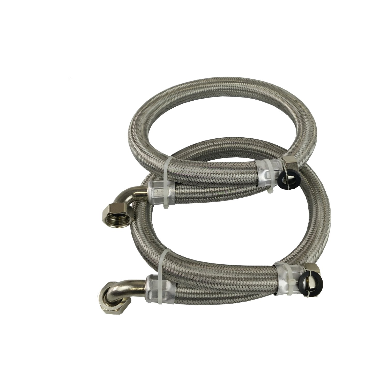 Stainless Steel Braided Hoses For Water Softeners /& Water Filtration 22mm