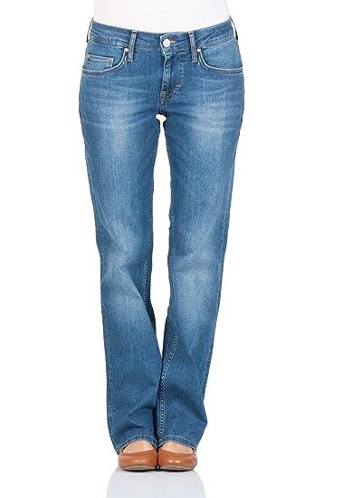 MUSTANG Damen Straight Leg Jeanshose Sissy  Amazon.de  Bekleidung 876189ba1f