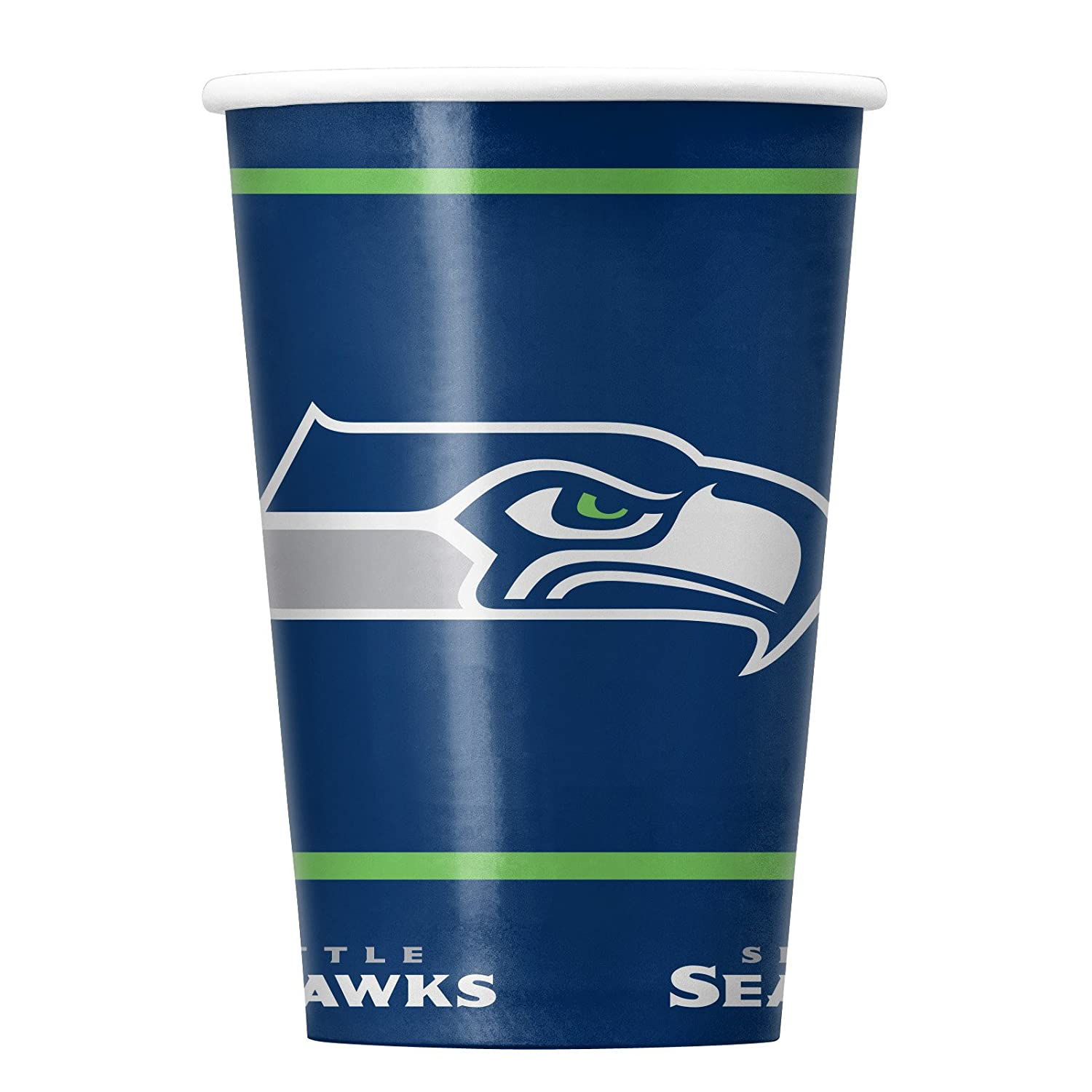 Duck House NFL Seattle Seahawks Disposable Paper Cups, Pack of 20 Duck House Sports LDCP