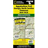 Appalachian Trail: Georgia, North Carolina, Tennessee [Map Pack Bundle] (National Geographic Trails Illustrated Map)