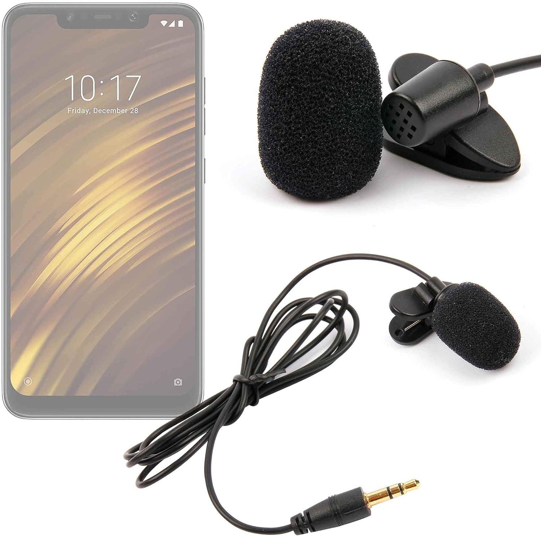 DURAGADGET Micrófono de Solapa/Clip Lavalier, omnidireccional para ...