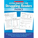 Extra Practice for Struggling Readers: Phonics: Motivating Practice Packets That Help Intermediate Students Build…