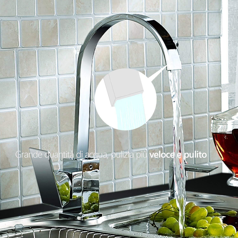 Hapilife Rubinetti da Cucina Ideal Standard 360 /° Girevole ...