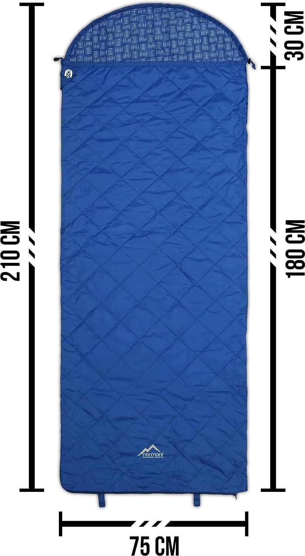 Normani Mini Schlafsack Tinbo SUPER SUPER SUPER KOMPAKT  Wasserdichtes Obermaterial mit Steppmuster, 3D Mikrofaser Microtech Füllung mit Daunen, 240 T R S Nylon B0748HRPZ8 Hüttenschlafscke & Inletts Die Farbe ist sehr auffällig 9a3f3a