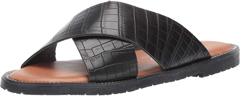 Leather slides chain sandals pool slides Greek sandals tailored by vivian leather sandals