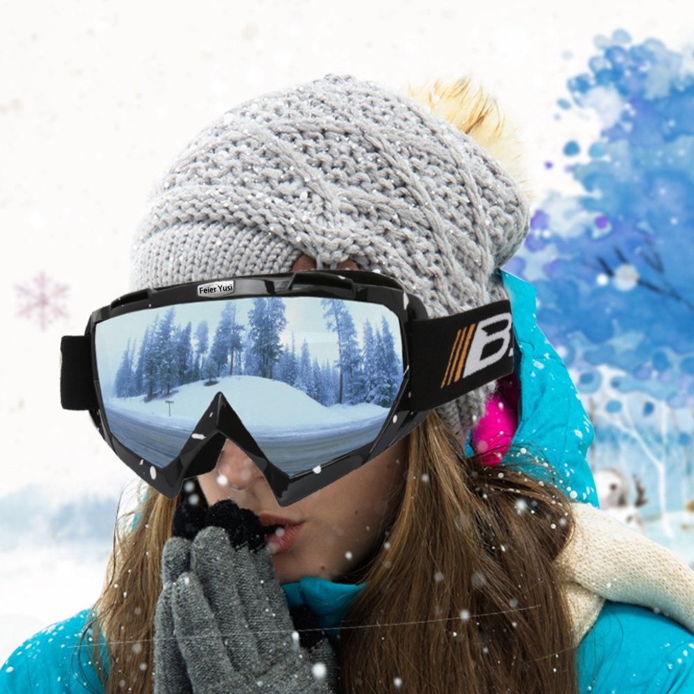 d59ea2866b89 with Box   Mask Jiangsu Province China Fit for Skiing Motorcycling Feier  Yusi Ski Snowboard Motorcycle Goggles ...