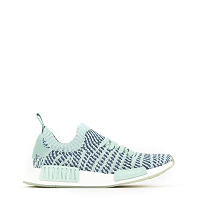 new styles efb27 abfb0 Image Unavailable. Image not available for. Color  adidas Originals Women s  NMD R1 Stlt Primeknit Trainers Ash Steel US7 Green