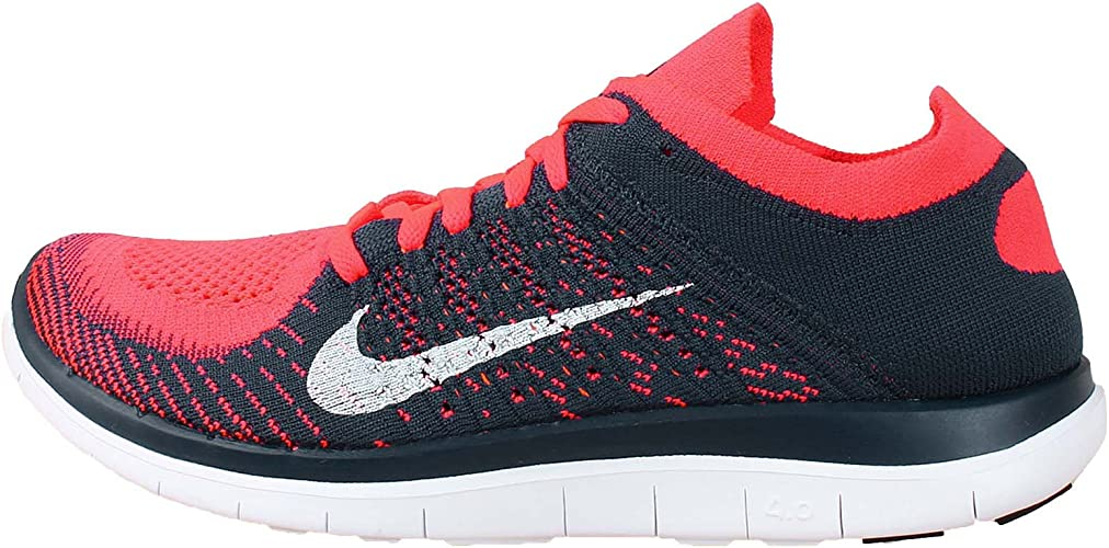 Nike Free 4 0 Flyknit 631053600 Red Blue 43 Amazon Co Uk Shoes Bags